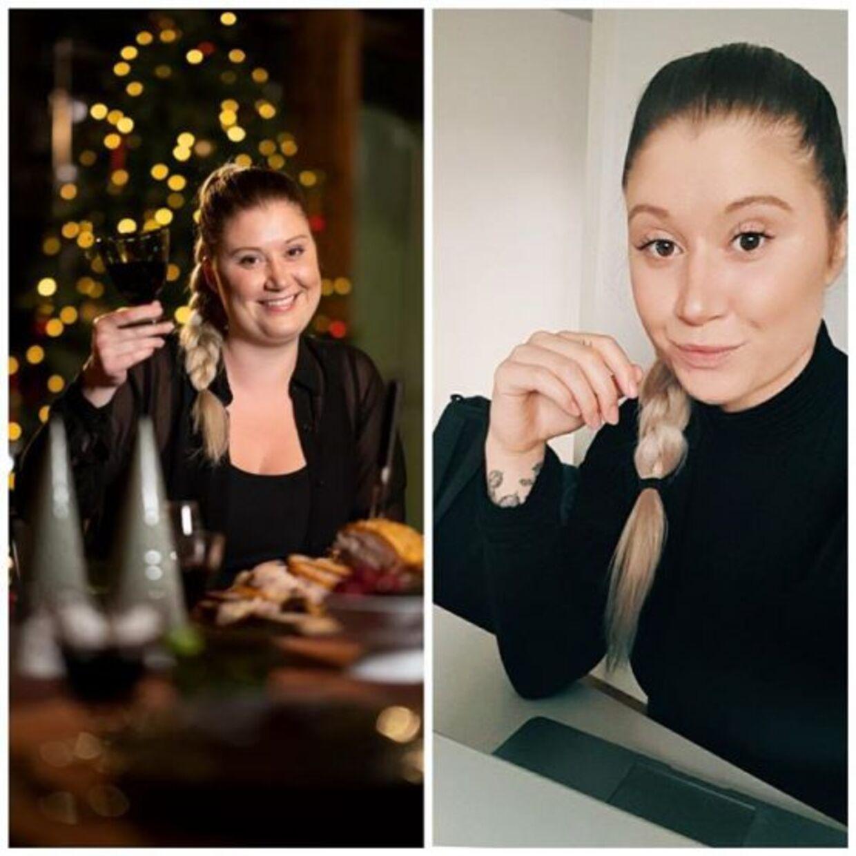 Der er en tydelig forskel på Nanna i 'MasterChef jul' og Nanna i dag.