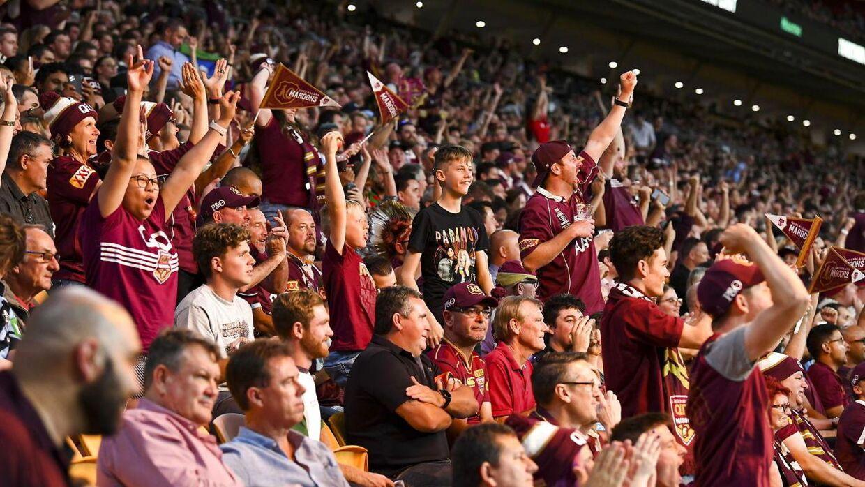 De mange fans i Queensland holdt sig ikke tilbage, når det kom til jubel og klapsalver.
