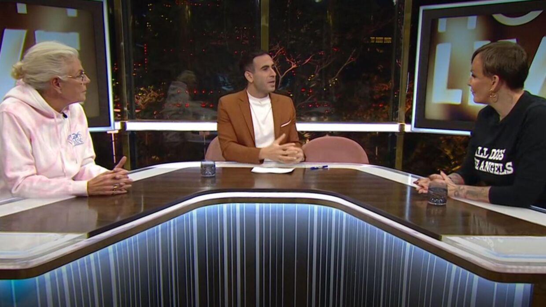 Billede fra aftenens udsendelse.
