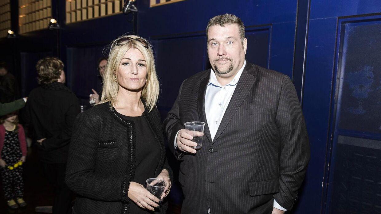 Her er det Amin Jensen med sin kærste Bente Dalsgaard