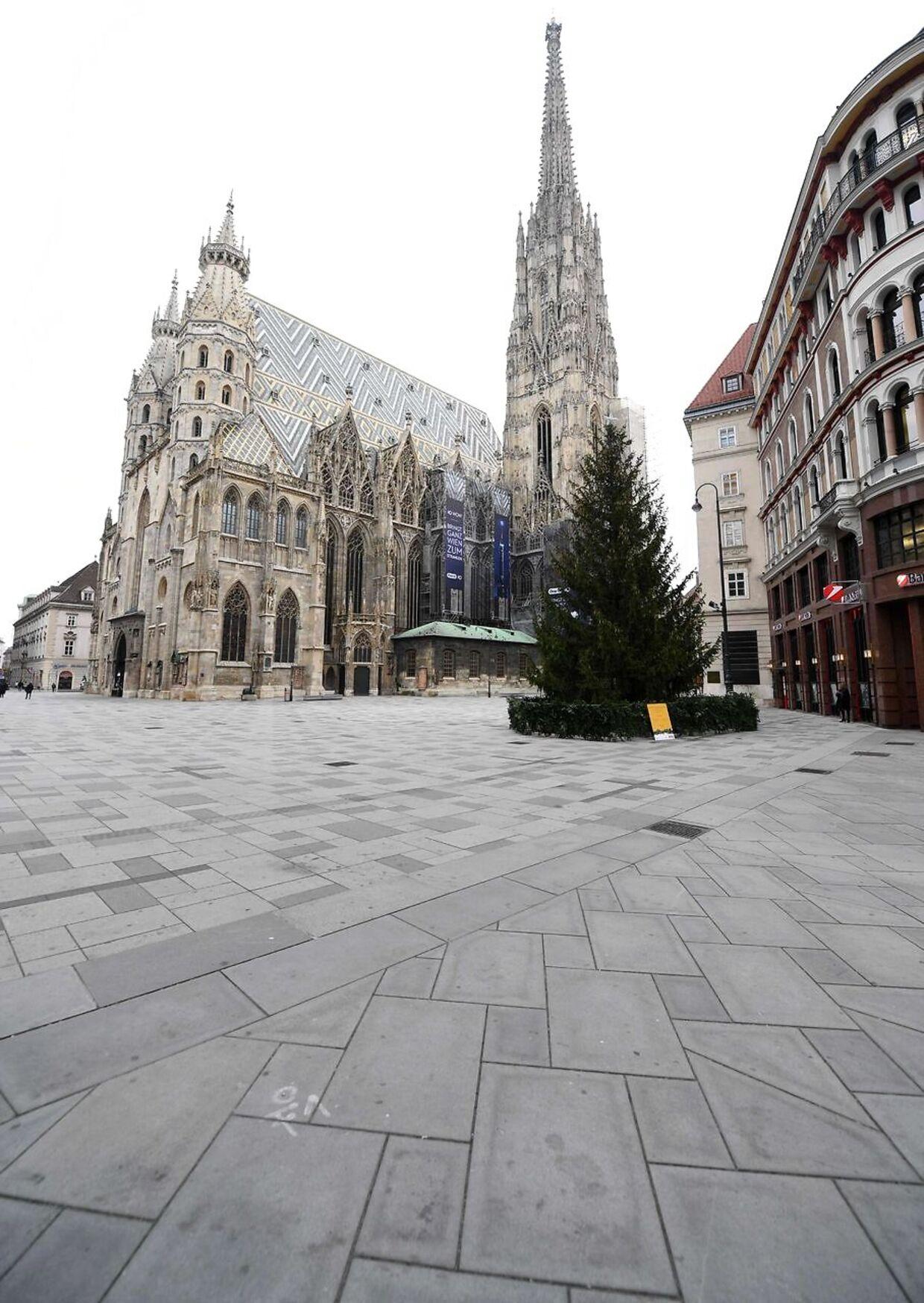 Wien er en spøgelsesby i disse dage.