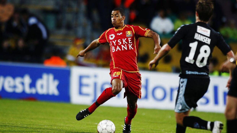 Jonathan Richter spillede for FC Nordsjælland, da ulykken ramte.
