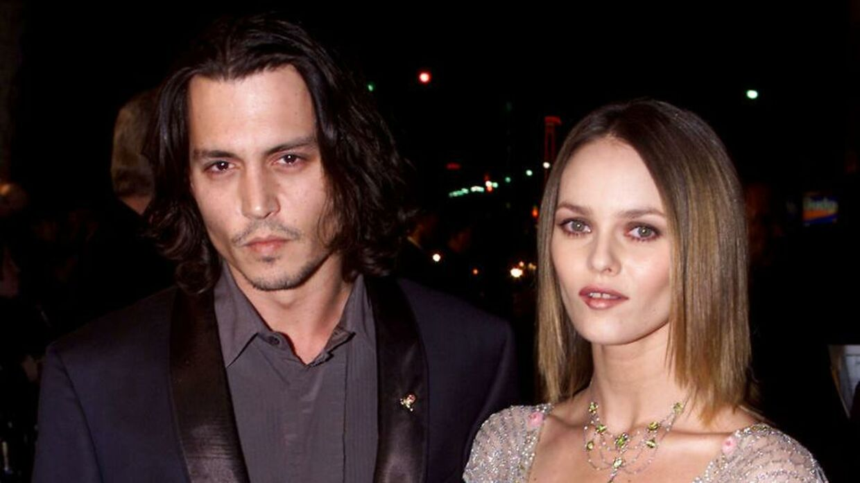 Johnny Depp og hans partner gennem mere end et årti Vanessa Paradis.