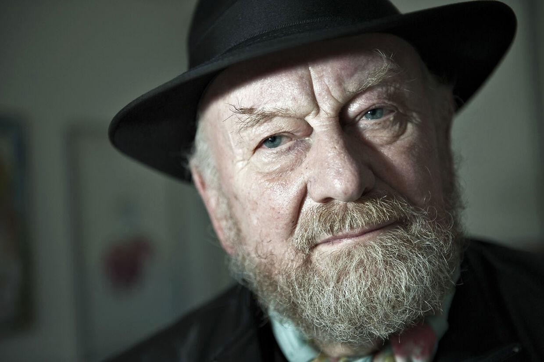 Nye dødstrusler mod den 85-årige karikaturtegner Kurt Westergaard. (Foto: Henning Bagger/Ritzau Scanpix)