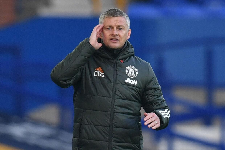 Manchester United, der har Ole Gunnar Solskjær som manager, blev fredag udsat for et hackerangreb. (Arkivfoto) Paul Ellis/Reuters