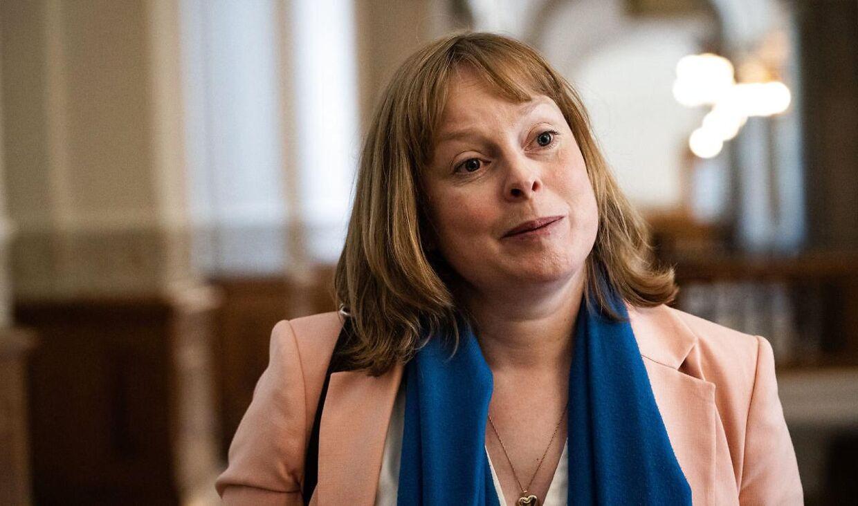 Kulturminister Joy Mogensen (S).