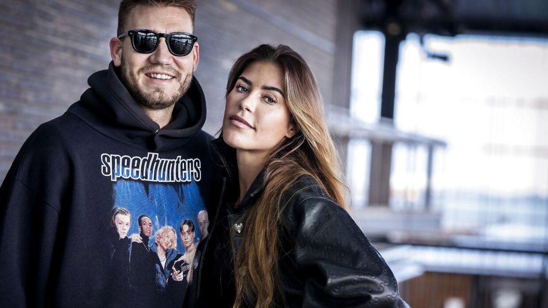 Nicklas Bendtner og Philine Roepstorff.