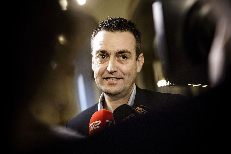 Leif Lahn Jensen, gruppeformand for Socialdemokratiet.