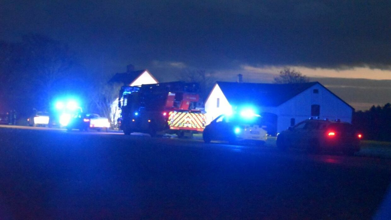 En hjemmehjælper opdagede, at ældre mands hus brændte. Manden mistede livet i brandulykken, skriver TV2 Øst.