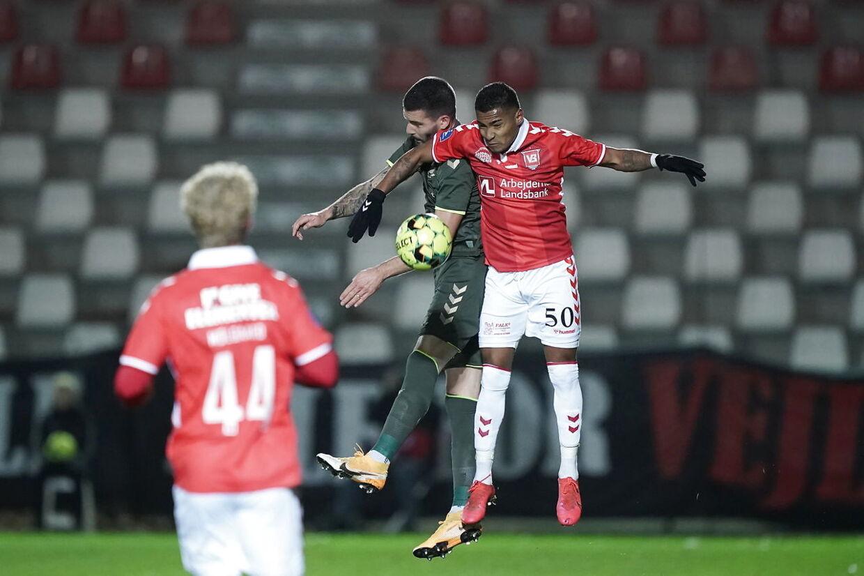 Superliga Fodbold Vejle Boldklub mod Brøndby IF. Søndag den 22 november 2020 på Vejle Stadion.