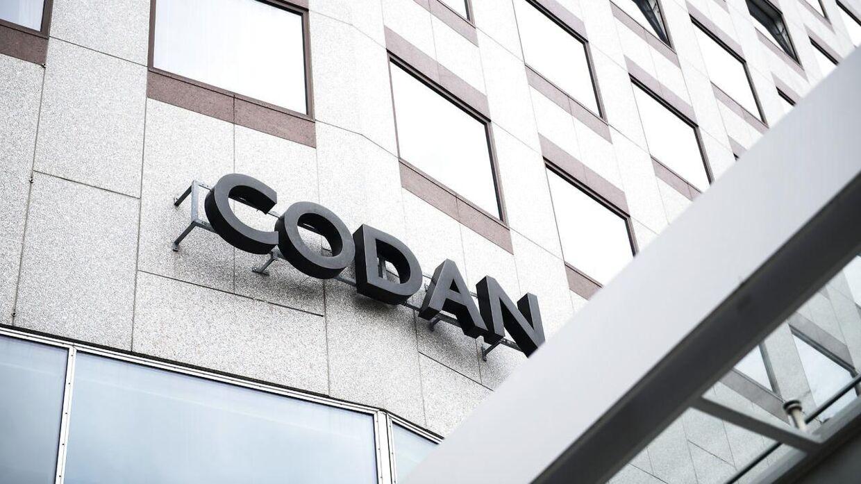 Codans nuværende hovedkvarter ligger på Gammel Kongevej i København. Det nye ligger lige ved siden af.