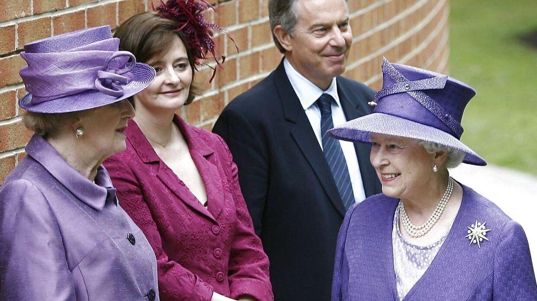 Dronning Elizabeth har angiveligt en tør humor, mens Margaret Thatcher slet ikke havde humor.