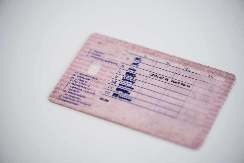 Den digitale version af det lyserøde kørekort har været undervejs siden 2018. (Arkivfoto.) Kristian Djurhuus/Ritzau Scanpix