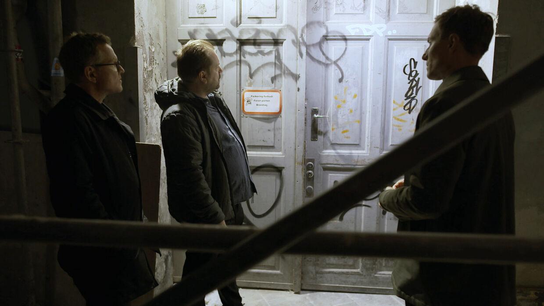 Jeppe Facius, Søren Baastrup og Sebastian Richelsen undersøger den 30 år gamle sag om drabet på Stine Geisler.
