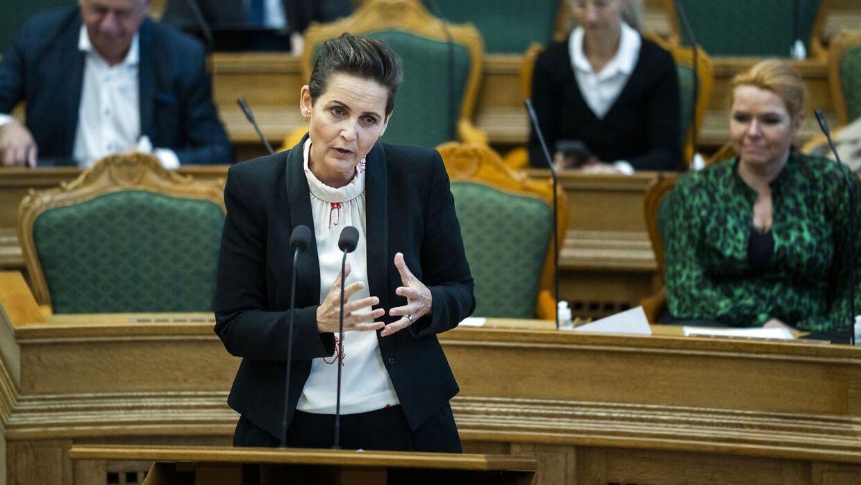 Pia Olsen Dyhr (SF) ønsker at udbrede ordningen med en borgerrådgiver til hele landet.