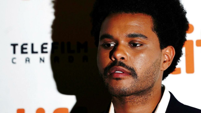 Abel Tesfaye soler sig i rampelyset.