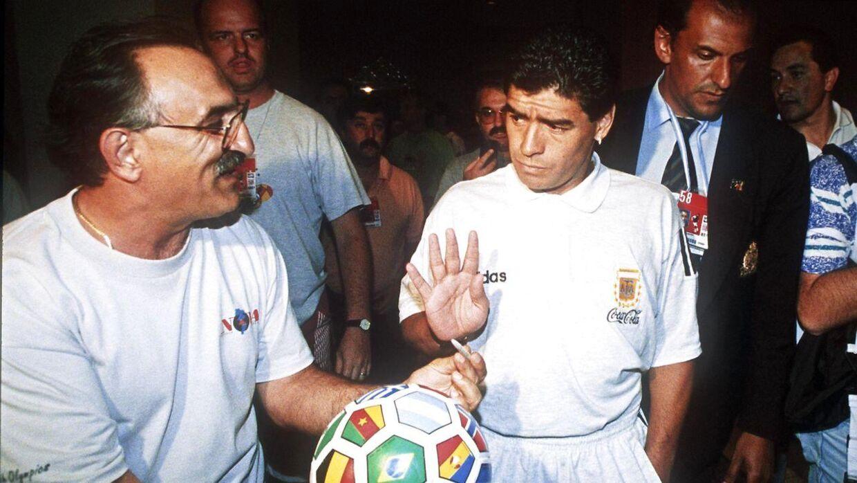 Maradona ved VM i 1994.