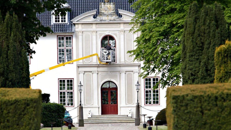 Dronningen kommer i år til at holde jul på Schackenborg.