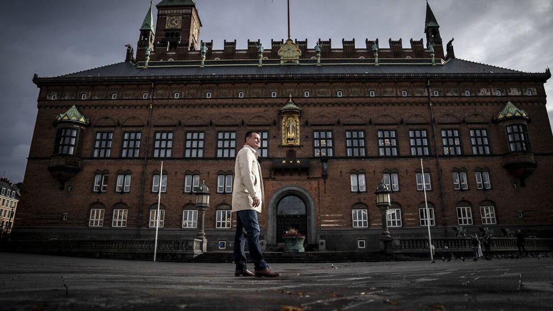 BIllede af Københavns Kommunes fungerende overborgmester 49-årige Lars Weiss (S)