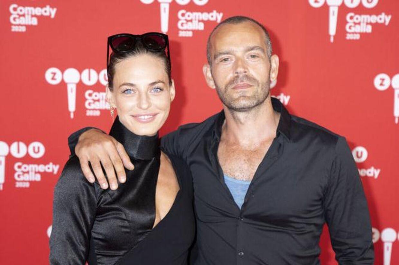 Sarah Grünewald med manden i sit liv, Benjamin Kaniewski.