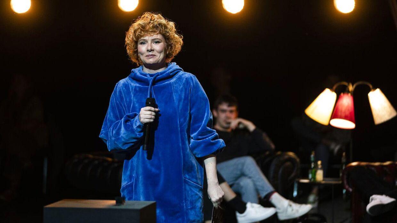 Vært ved DMA Annika Aakjær. Danish Music Awards i Royal Arena lørdag den 28. november 2020. (Foto: Martin Sylvest)