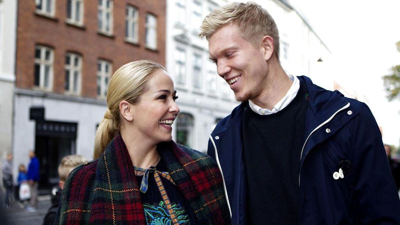 Arkivfoto af Ibi Støving og hendes eksmand, Simon Makienok