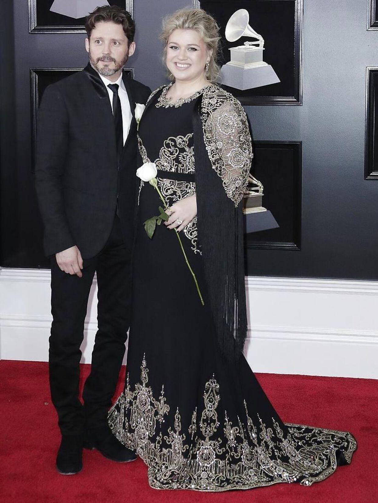 Parret fotograferet til Grammy Awards for et par år siden.