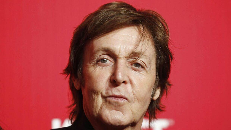 Paul McCartney optræder stadig på trods af sin fremskredne alder.