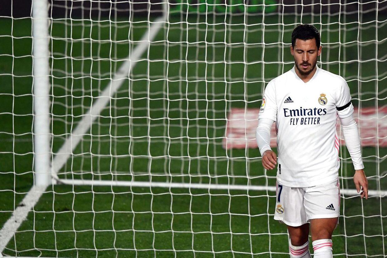 Hazard er blandt de spillere, som Zidane angiveligt har mistet troen på.