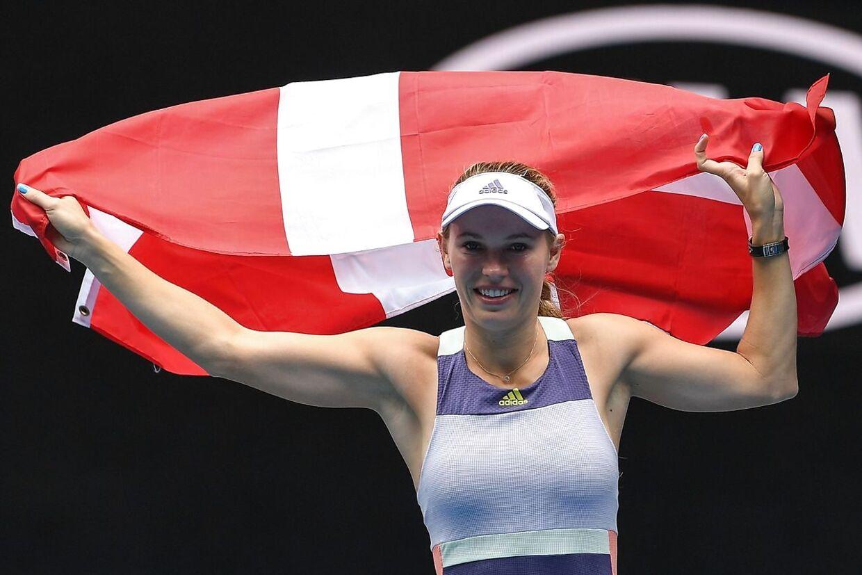 Det er denne kjole, som ifølge den serbiske kommentator var blandt de mest mindeværdige outfits på WTA Touren i 2020.