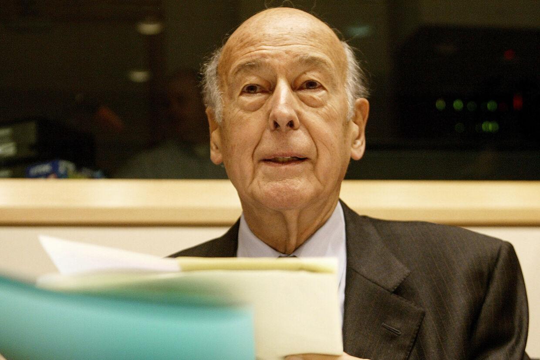 Den tidligere franske præsident Valéry Giscard d'Estaing er død. Han blev 94 år. (Arkivfoto) Francois Lenoir/Reuters