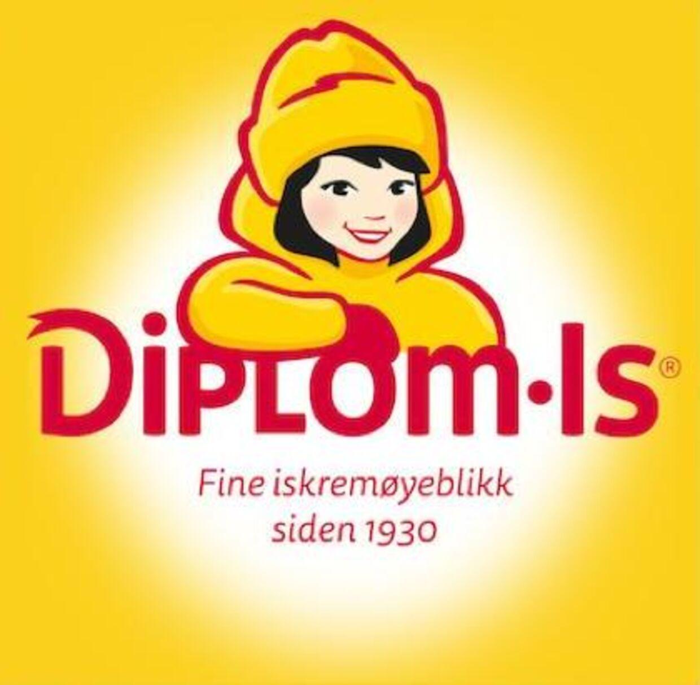 Det nye logo for Diplom-Is.