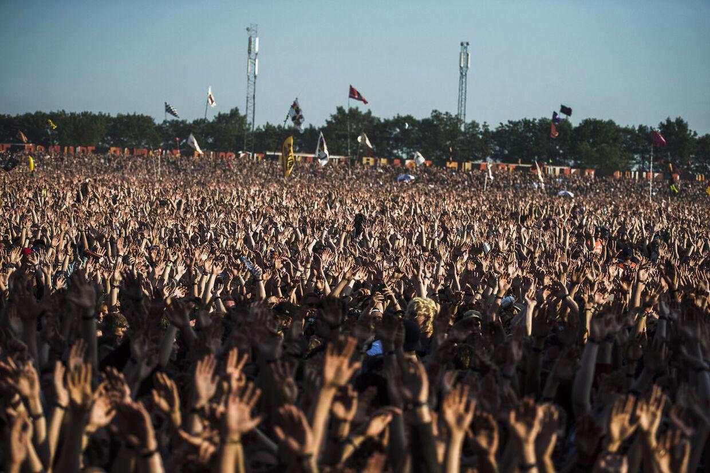 Kendrick Lamar på Orange Scene, Roskilde Festival 2015, fredag d. 3 juli