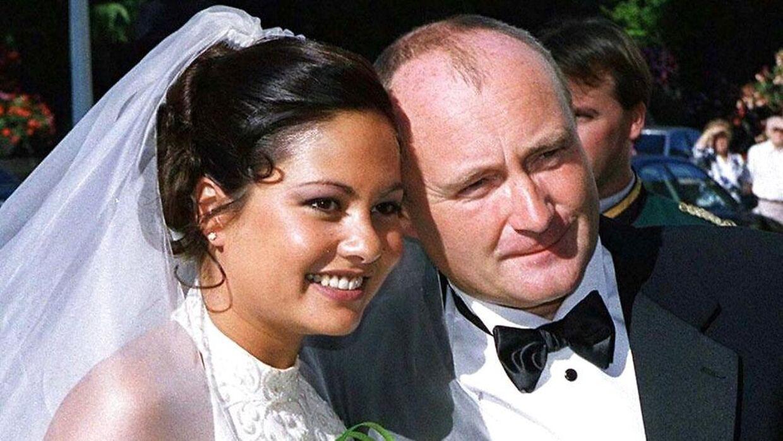 Phil Collins og Orianne Cevey blev gift i juli 1999.