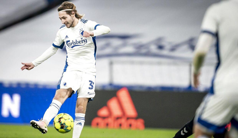 Rasmus Falk scorede til 2-0 mod AC Horsens.