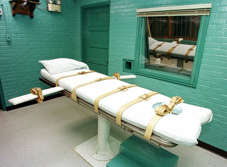 Dødsbriksen i Huntsville, Texas.