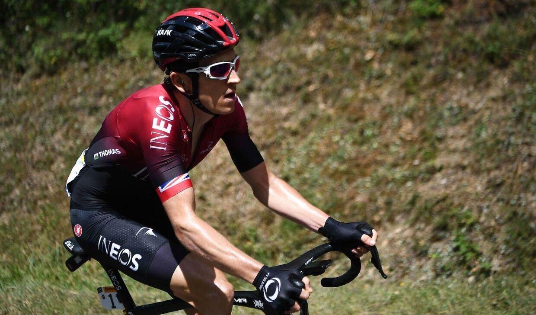 Geraint Thomas under dette års Giro d'Italia.