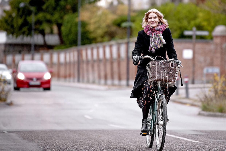 Helle Thorning-Schmidt vil gerne være sådan en mormor, der altid har tid, når/hvis hun engang får børnebørn. Foto Bax Lindhardt.