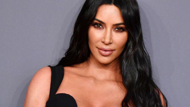 Arkivfoto af Kim Kardashian West fra 2019.