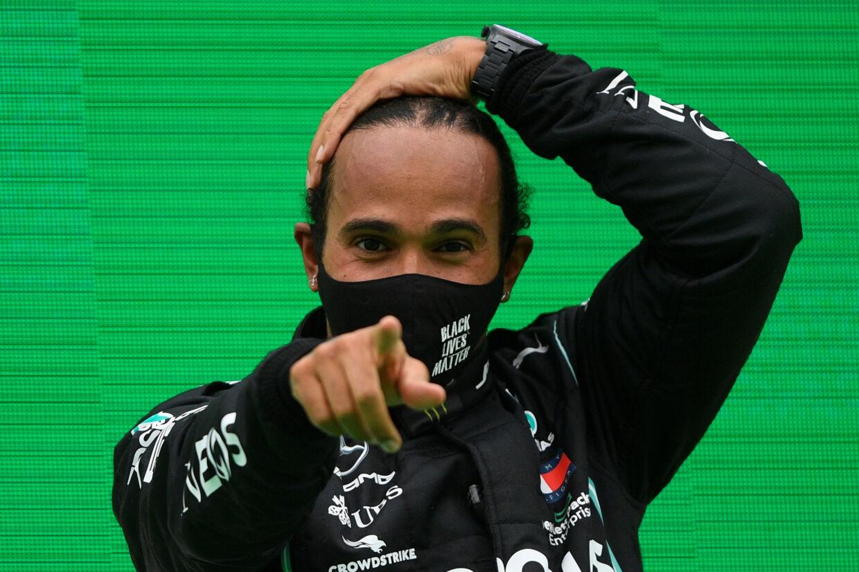 Lewis Hamilton har allerede kunnet fejre sin syvende VM-titel. Efter en negativ coronatest er han også meldt klar til årets sidste grandprix (Arkivfoto). Rudy Carezzevoli/Reuters