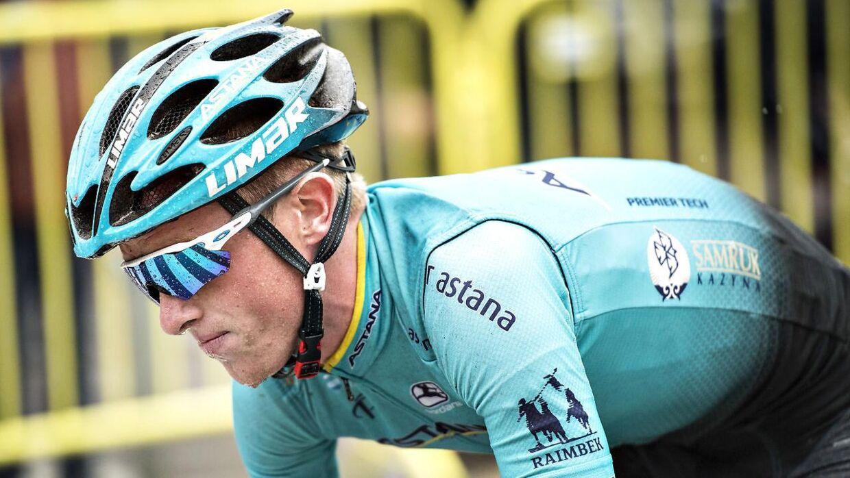 Jesper Hansen satser på at blive i cykelmiljøet - fynboen er uddannet cykelmekaniker.
