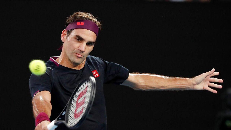 39-årige Roger Federer.