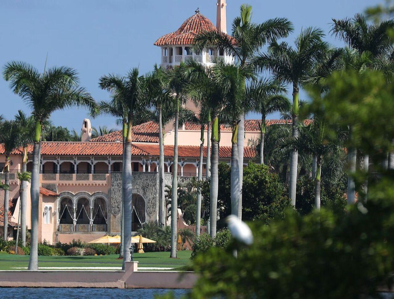Donald Trump resort Mar-a-Largo i Florida. (Arkivfoto)