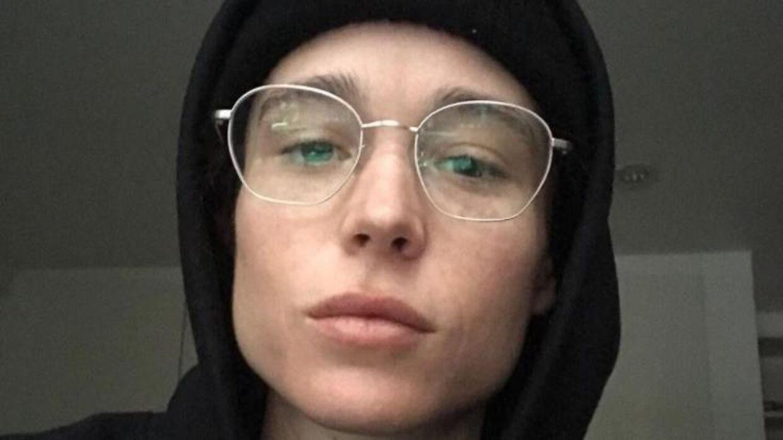 Elliot Page har delt det første billede af sig selv, siden han sprang ud som transkønnet.