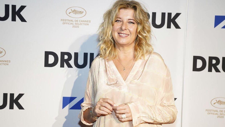 Paprika Steen tidligere på året til premiere på filmen 'Druk'.