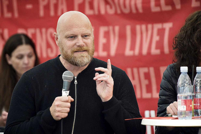 Folkemødet 2016. Ordstyrer: Mads Steffensen hos PFA Pension