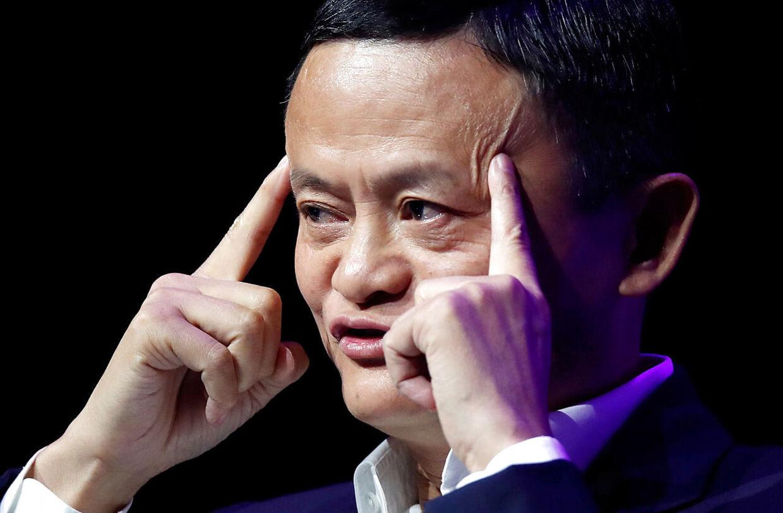 Jack Ma er ikke blevet set offentligt i flere måneder. Arkivfoto