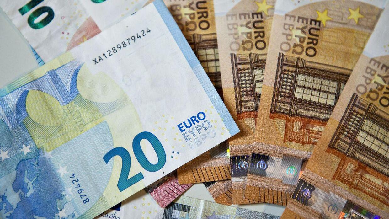 En ældre mand mistede for to år siden 1,1 millioner kroner i kontanter – mange af dem i eurosedler – da han var på vej hjem fra banken. (Arkivfoto)