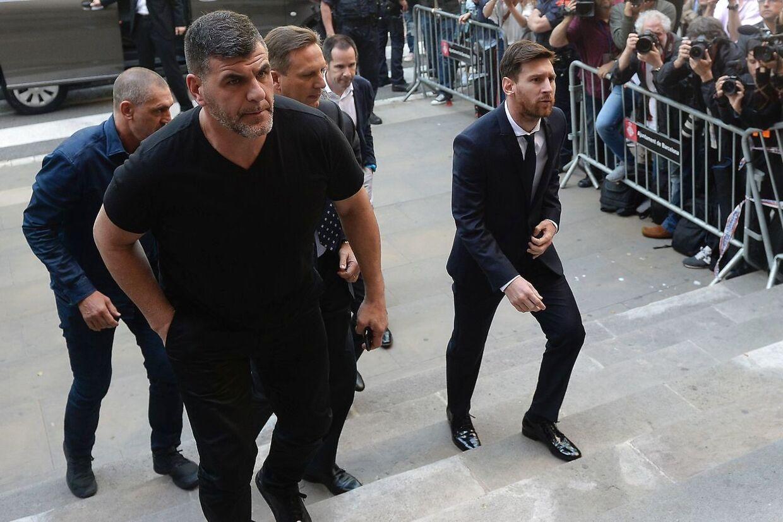 Højesteret stadfæster Messis dom for skattesnyd i 2016, hvor han får en stor bøde og 21 måneders betinget fængsel.