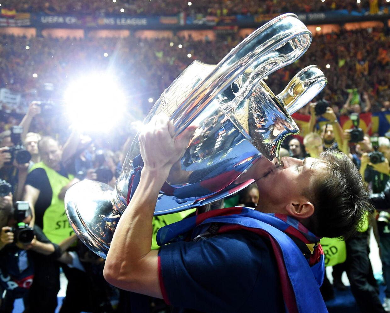 Champions League-triumfen i 2015 står tilbage som noget af det største i Messis tid i FC Barcelona.